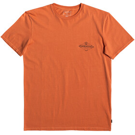 Quiksilver Vibed Miehet Lyhythihainen paita , oranssi